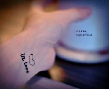 【刺青】《熟前整理:親愛的,錯的不是你》