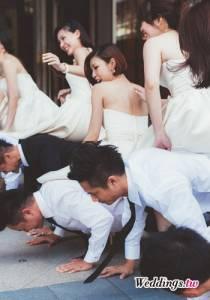 新郎闖關玩什麼?新郎伴娘大鬥法|Weddings.tw 新娘物語