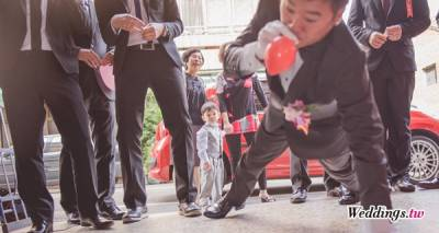 新郎闖關遊戲․五花八門關卡大考驗|Weddings.tw 新娘物語