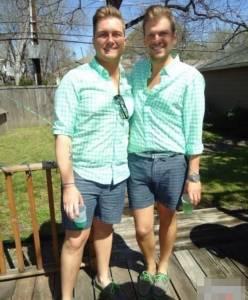 同志情侶都長得那麼像喔!雙胞男友高度神似照引觀注~