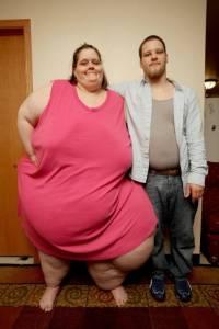 這才是真愛!重達700斤女子為愛瘋狂減重!