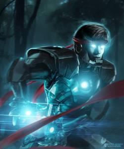 【酷炫】超級英雄變鋼鐵人:嘿,鋼鐵人,盔甲借我用!