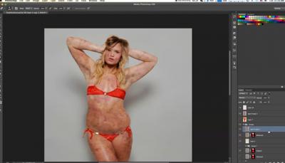 【無言】Photoshop強大到可以把披薩修成美女,你說這世界還能相信什麼?