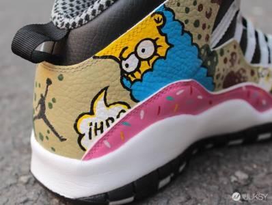 """Air Jordan 10 """"Simpson"""