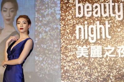 伊林名模 王尹平帶領2014璀璨之星演繹秋冬彩妝時尚秀│美麗佳人