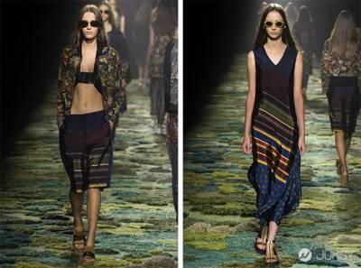 2015 春夏巴黎時裝週首日:古典油畫作衫和運動未來主義