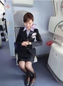 「哪家航空,空姐竟然是