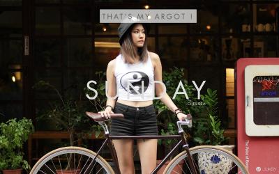【 THAT'S MY ARGOT 】 女性單速車 天天騎乘妳的謬斯嚮往!