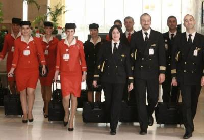 世界各國正妹空姐大集合!實在是太美了~