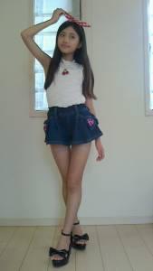 超萌小五蘿莉美如天使,網友的心都被征服了!