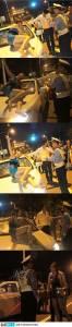 酒醉女在街上發酒瘋 警察表示:無奈 民眾全實錄