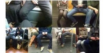 男人老愛開腿坐的理由!沒有這種困擾的可能...還太小了