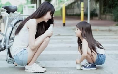 太犯規!大姊姊VS小蘿莉正到翻,網友:我要受不了了