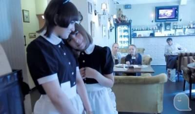 各國女僕咖啡廳裡的女僕照比較~主人~歡迎你回來!!