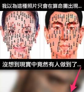 瘋了!加拿大男模竟然把所有『無用字彙』刺青在臉上!只為了提升辨識度...