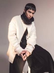 蕭敬騰首次挑戰新銳時裝 支持台灣創意設計新銳│ELLE 她雜誌