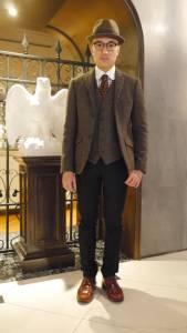 紳士風正流行!5位台灣街頭型男示範西裝帥氣穿搭│GQ瀟灑男人網