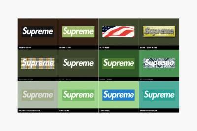 Supreme 經典 Box Logo 20年間演進總整理