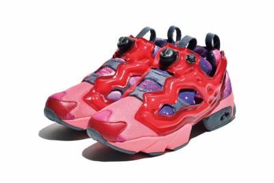 日本動漫鋼彈 x Reebok 2014 春夏 Instapump Fury 聯名充氣鞋款