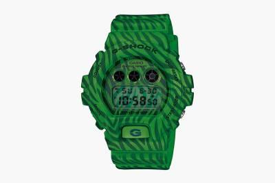 """潮流動物紋 G-Shock DW-6900 """"Zebra 斑馬系列錶款"""