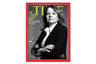 美國時代雜誌 2014年100位最具影響力的人物