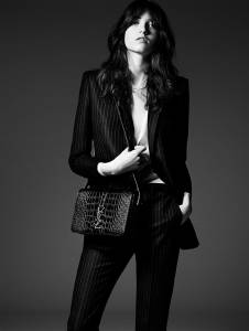 新生代超模 Grace Hartzel 『中性纖弱』詮釋 Saint Laurent 2014 早秋 Lookbook