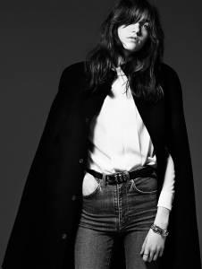 新生代超模 Grace Hartzel 『中性纖弱』詮釋 Saint Laurent 2014 早秋 Lookbook