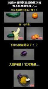 【大發現】終於知道為什麼是香蕉,不是向日葵了!!