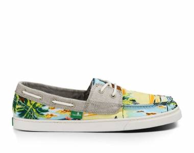 SANUK TROPIC SAILAWAY:夏威夷風帆布懶人鞋
