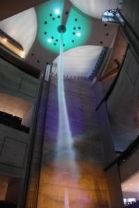 賓士博物館的龍捲風科技