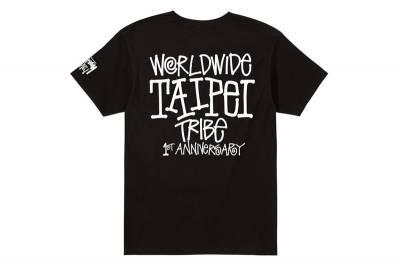 Stussy 台北店一週年紀念 T-Shirt