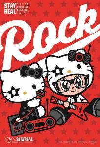 STAYREAL 力邀「Hello Kitty」共組搖滾樂團!史上最萌女主唱Hello Kitty登場