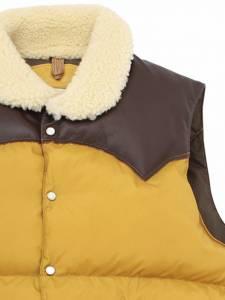 羽絨背心之王 Rocky Mountain Featherbed 最經典款 羊毛領頸「Christy」背心雙色登場