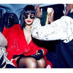 沒有他不行 到處都有蕾哈娜的巴黎時裝週