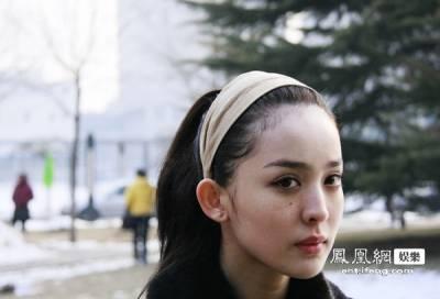 驚豔考場的新疆美女古力娜扎