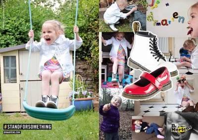 馬汀大夫 Dr. Martens 推出春夏全新童鞋新品 替孩童們打造最多元化的初春穿搭
