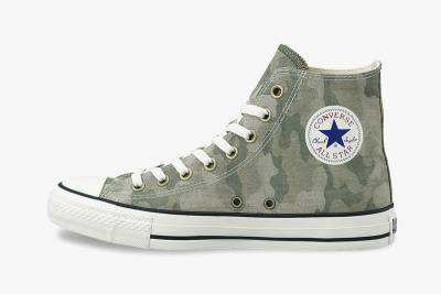 經典鞋款搭上迷彩 Converse Japan All Star Jacquard Camo 系列作品
