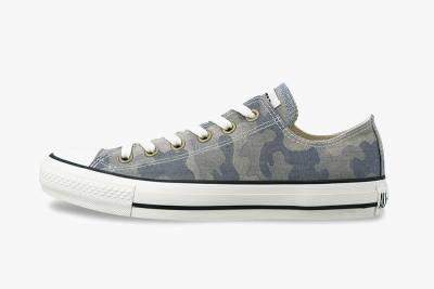 經典鞋款搭上迷彩 Converse Japan All Star Jacquard Camo 系列作品