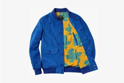 紐約兩大品牌聯合 Supreme x Schott 2014春夏系列外套