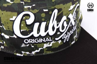 Cubox 化學工兵七分連帽T 野戰迷彩可調式棒球帽
