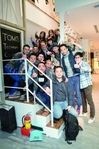 TOMS 旗艦店開幕暨慈善義賣記者會