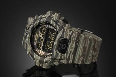 CASIO G-SHOCK 狂野虎紋與粗獷叢林迷彩 展現強悍時尚軍事風