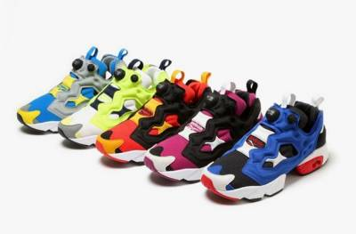 Reebok 榮耀再現 Instapump Fury充氣鞋款 2014 春夏系列