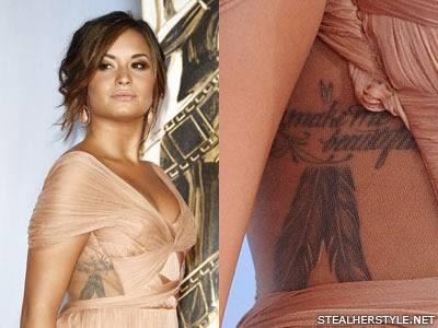 《冰雪奇緣》爆紅曲Let It Go主唱「Demi Lovato」也熱愛刺青文化!全身大剖析