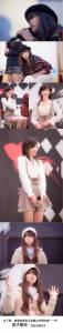 日本築波大學附屬駒場中學文化祭選出的「築駒小姐」