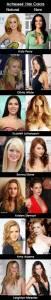 看看這些女演員的頭髮顏色,你就會知道金發碧眼的不一定是性感!