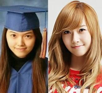 少女時代畢業照曝光 驚死人的變化