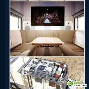 【超屌】男子為帶4歲女兒環遊世界,幾百萬美元建了一輛超級車