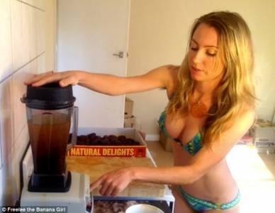 她節食,但是她一天吃51根香蕉......