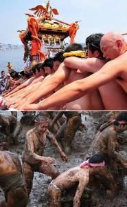 十個奇怪的裸體活動